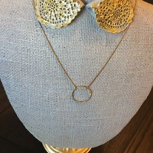 Jewelry - Gold Necklace w/ Gold Ring